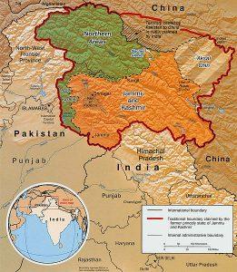 Kashmir and India Pakistan relation