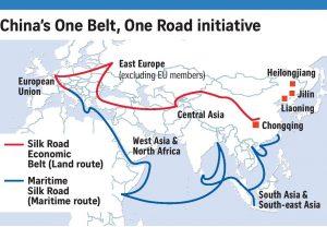 China's One Belt One Road (OBOR)