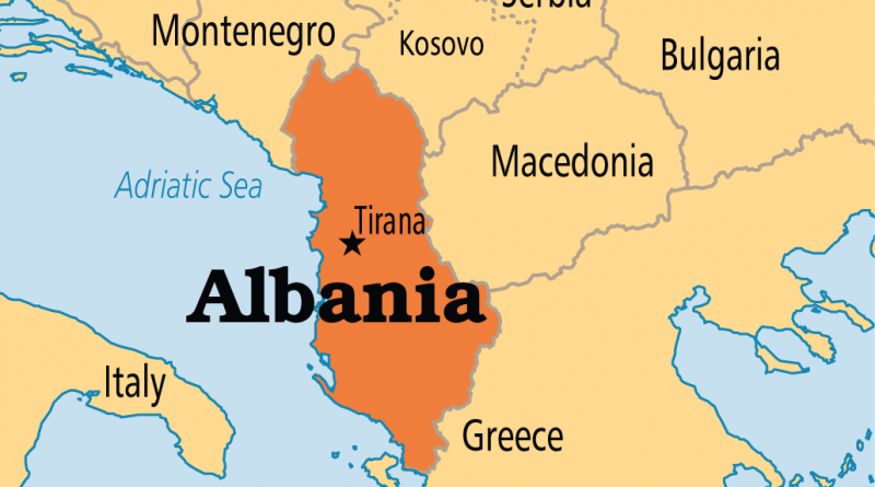 Why does US support Albania?