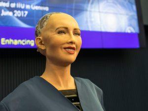 SOPHIA, the robot in Bangladesh