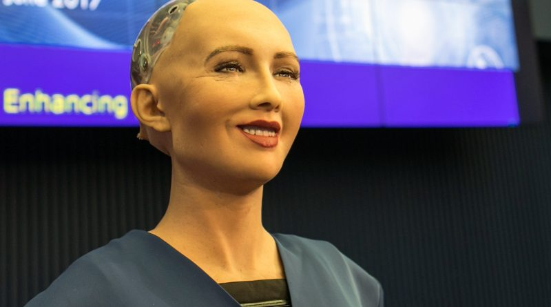 SOPHIA, the robot in Bangladesh