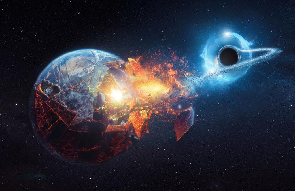 Black hole, the kinky hole