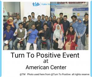 American Center Community based activity.
